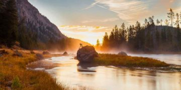 5 Week Road trip to Yellowstone with IBM Adventurers