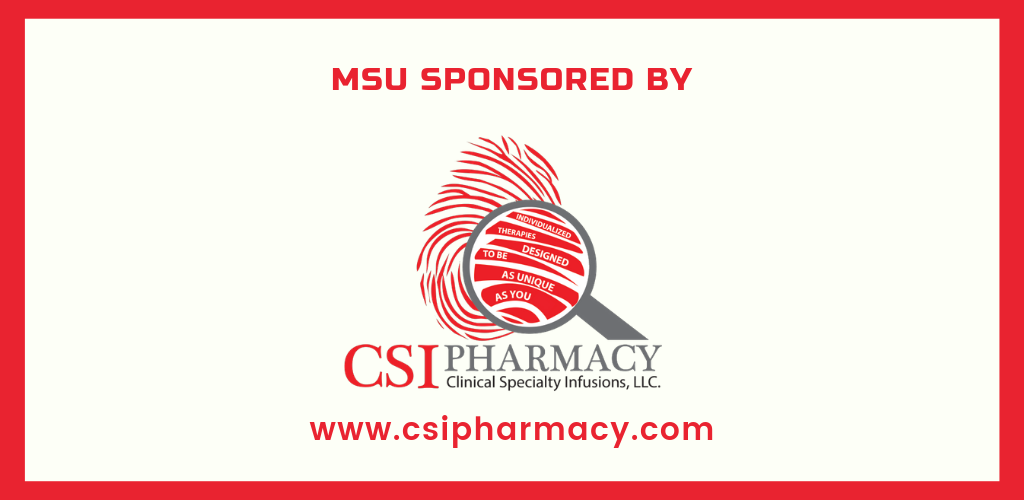 MSU and Myositis Awareness Month sponsored by CSI Pharmacy