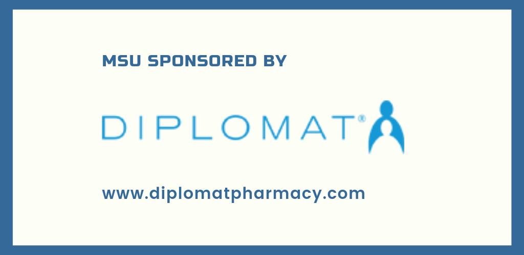 MSU Myositis Awareness Month sponsored by Diplomat Specialty Pharmacy