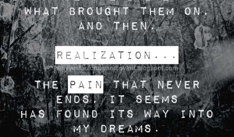 Pain Never Sleeps