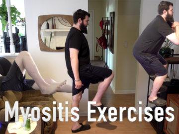 Patient Myositis Exercises video
