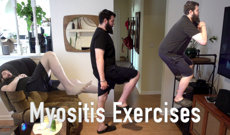 Leg and Arm Exercises for Myositis
