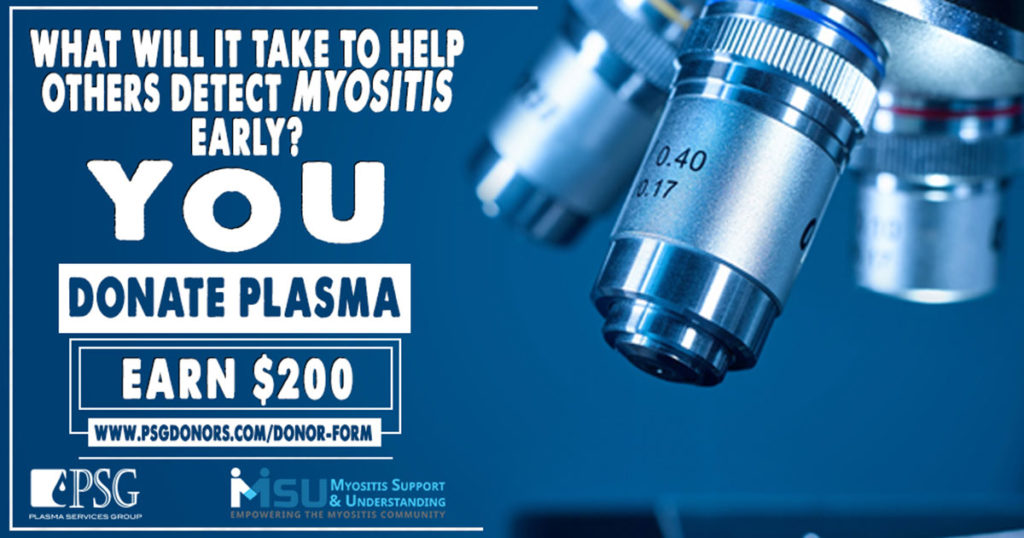 Donate plasma for medical research and earn $200 with PSG