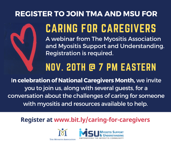 Register to attend online, Caring for Caregivers