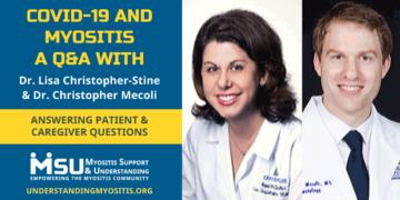 COVID-19 and Myositis, live Q&A Webinar