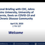 CDC Briefing with Chronic Disease Community