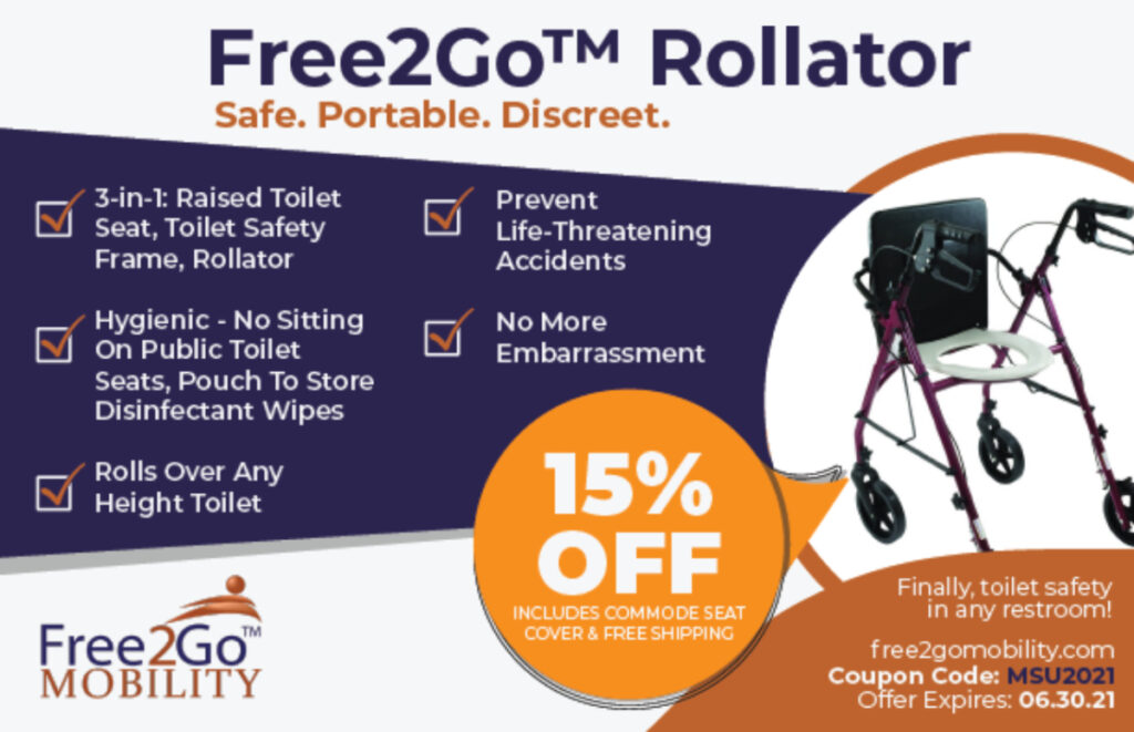 Free2Go Rollator special offer