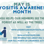 May is Myositis Awareness Month
