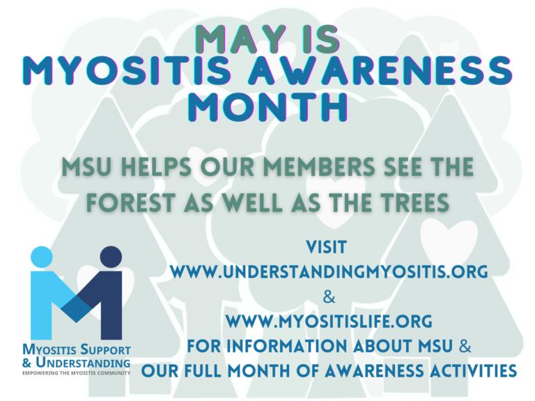 May is Myositis Awareness Month